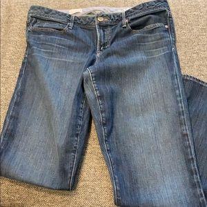 "Gap 1969 ""Real Straight""  Dark Wash Denim Jeans"